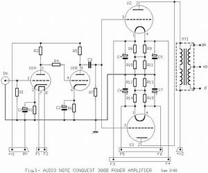 Audio Note Conquest Power Amp With 300b Circuit Diagram And Instructions