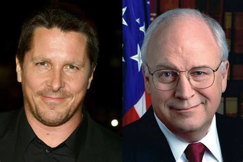 Christian Bale Dick Cheney Transformation Happening