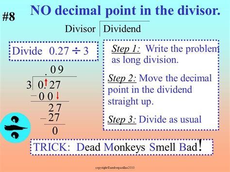 Understanding Division And Dividing With Decimals