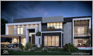 Modern Villa House Full Project On Behance