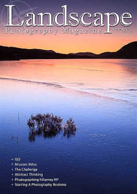 landscape photography magazine issue  photography blog