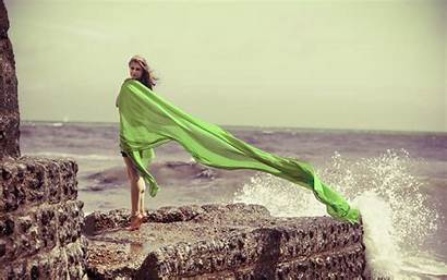 Barefoot Windy Fabric Outdoors Waves Cliff Px