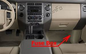 Fuse Box Diagram Ford Expedition  U324  2007