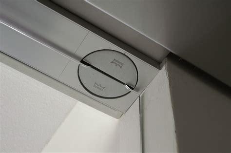 Dorma Visur Concealed Hardware for Double-Acting Doors