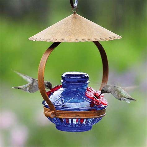 pot de creme shelter hummingbird feeder garden artisans llc