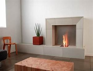 Some ideas of contemporary fireplace surrounds decor for Fireplace remodel ideas modern