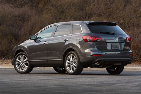 mazda suv lineup 2014 mazda cx 9 rear three quarter photo 8