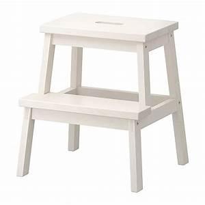 Ikea Hocker Holz : ovp ikea bekv m tritthocker wei hocker tritt holz ~ Michelbontemps.com Haus und Dekorationen