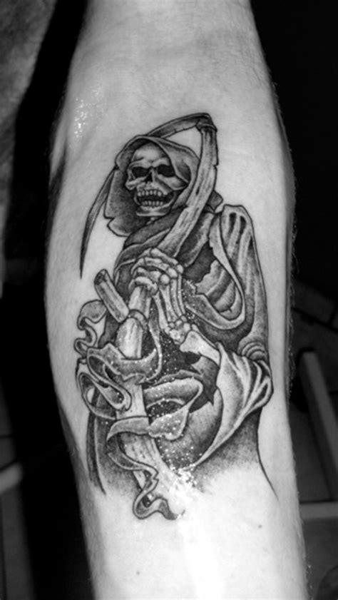 49 Mysterious Death Tattoo Designs For Men & Women   Picsmine