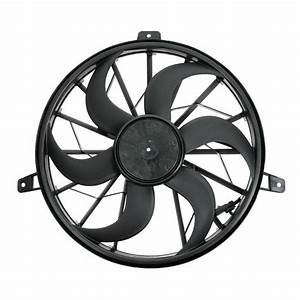 Radiator Cooling Fan  U0026 Motor Assembly For 99