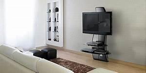 Meuble Tv Accroché Au Mur : bien choisir son meuble tv guides d 39 achat easylounge ~ Preciouscoupons.com Idées de Décoration