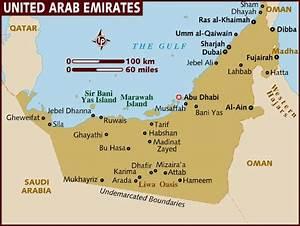 Vereinigte Arabische Emirate Karte Tierwelt