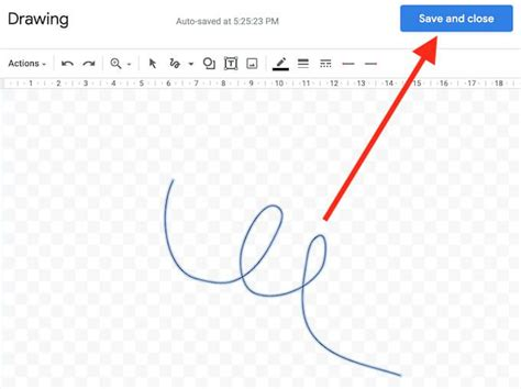 How to Insert a Signature in Google Docs