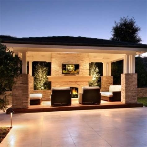 Outdoor Entertainment Area  Ideas To Fall In Love With In