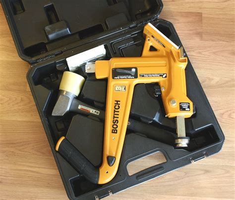bostitch flooring nailer owners manual bostitch mfn 201 manual flooring cleat nailer kit review