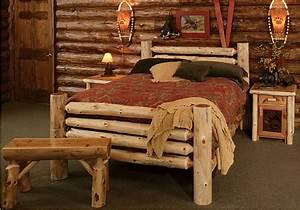 Cedar, Log, Bed, Kits