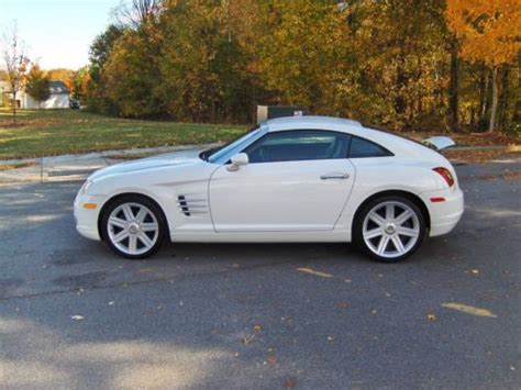 Buy Chrysler Crossfire by Buy Used 2006 Chrysler Crossfire Limited Coupe Alabaster