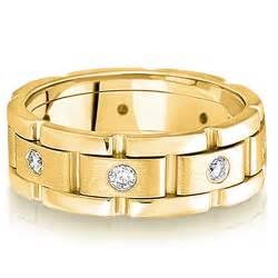 mens wedding rings white gold cut gold wedding rings for ipunya