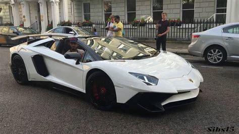Lord Aleem Brings His Lamborghini Aventador Sv To