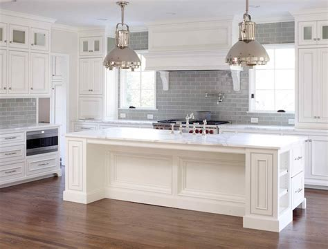 gray backsplash kitchen gray glass subway tile transitional kitchen l kae interiors