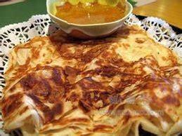 Roti prata, roti canai, roti paratha , roti parotha (印度煎饼,手抓饼, பராத்தாவை ). 印度煎饼_360百科