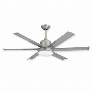 52 Inch DC-6 Ceiling Fan by TroposAir - Commercial or