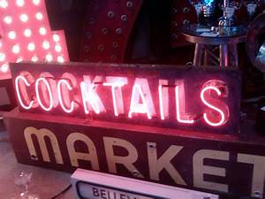 Vintage Neon Sign The Gasworks Factory Seattle WA What