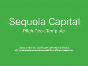 Sequoia Capital Pitch Deck by Sequoia Capital Pitch Deck Template
