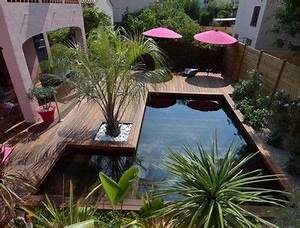 inspiration xs les jardins de petites tailles et With amenagement petit jardin avec piscine 11 terrasse carrelee ma terrasse