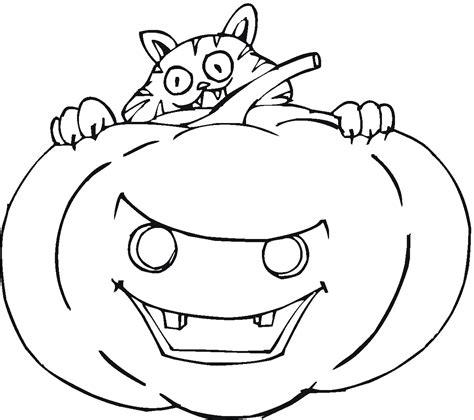 printable pumpkin coloring pages  kids