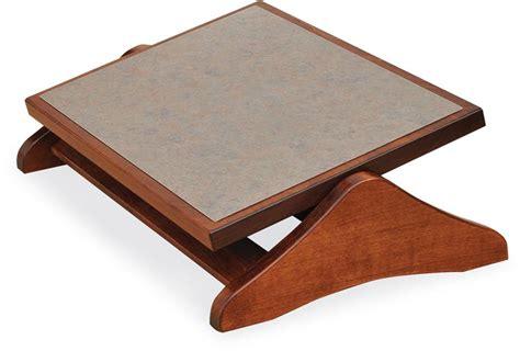 Amish Adjustable Footrest Amish Ottomans Footstools 44702