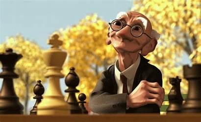 Geri Pixar Chess Short Geris Film Shorts
