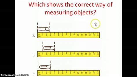 lesson  measuring  centimeters youtube