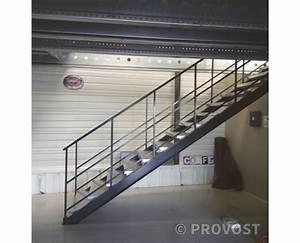 Escalier Métallique Industriel : escalier metal ~ Melissatoandfro.com Idées de Décoration