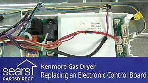 How To Replace A Kenmore Gas Dryer Electronic Control Board