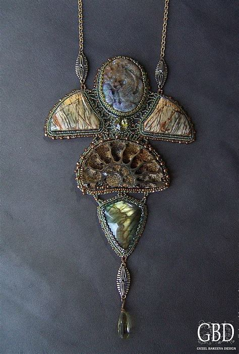New Amazing Jewelry From Guzel Bakeeva  Beads Magic