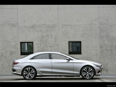 Mercedes Benz F800 Style Concept 2018 Side Wallpaper