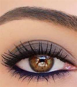Maquillage Pour Yeux Marron : 25 best ideas about hair makeup on pinterest prom ~ Carolinahurricanesstore.com Idées de Décoration