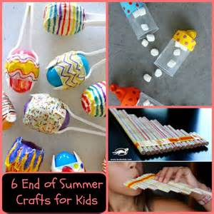 End of Summer Art Craft for Kids