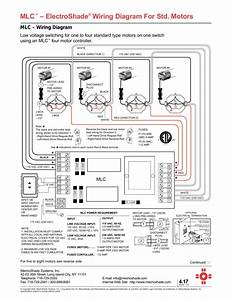 Mlc U2122  U2013 Electroshade U00ae Wiring Diagram For Std  Motors