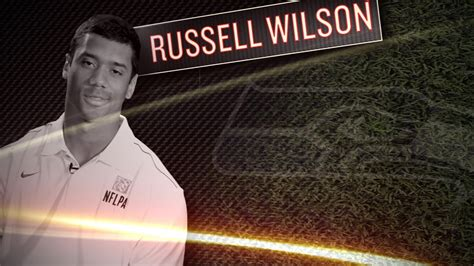russell wilson interview seahawks rookie qb youtube