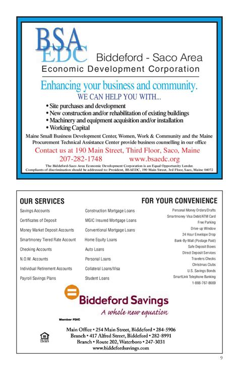 Check spelling or type a new query. Biddeford-Saco ME Community Profile by Townsquare Publications, LLC - Issuu