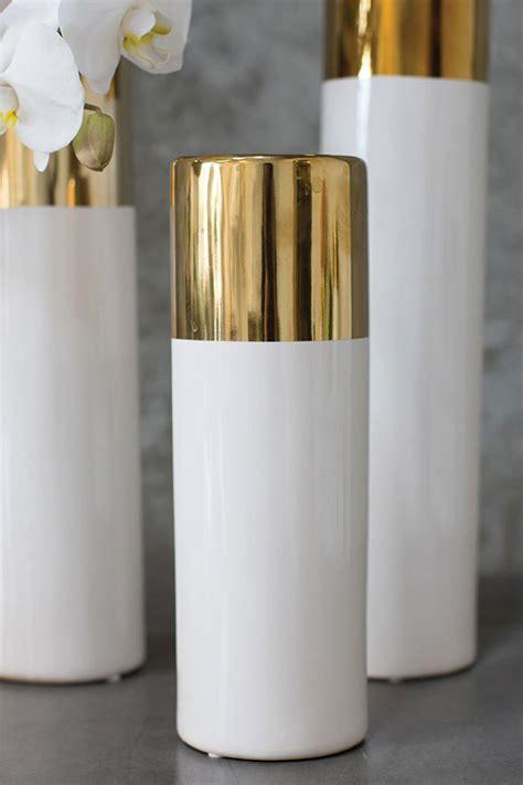 white gold  klein vase