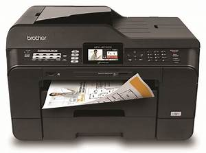 amazoncom brother mfcj6710dw business inkjet all in one With scanner max document size 11x17