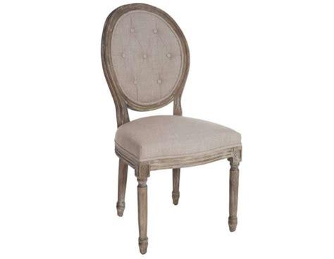 chaises capitonnées chaise medaillon capitonnee