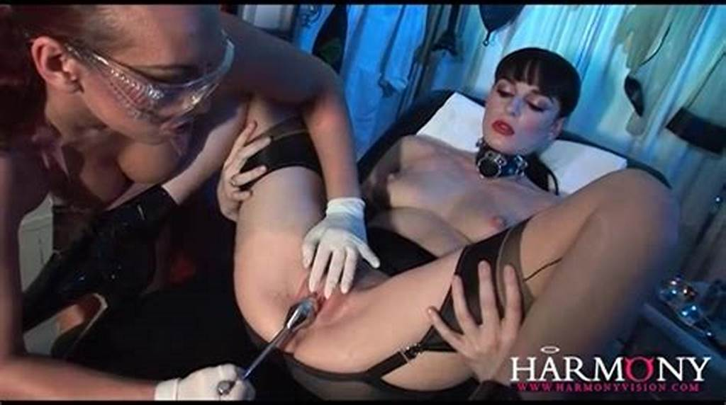 #Kinky #Lesbian #Medical #Fetish #Play #With #Latex