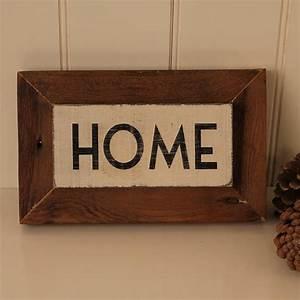 U0026, 39, Home, U0026, 39, Reclaimed, Wooden, Sign, By, M, U00f6a, Design