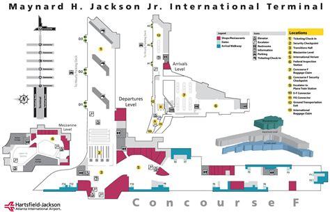 map of atlanta airport map3