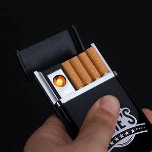 Aliexpress Com   Buy Design Cigarette Box With Lighter