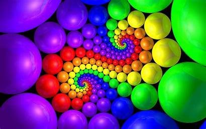 3d Spiral Colorful Powerpoint Backgrounds Ball Graphic
